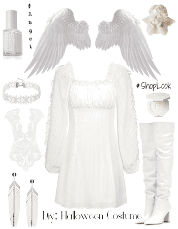 Diy: Halloween costume  Angel