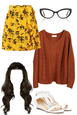 Jess Day from New Girl Inspired outfit