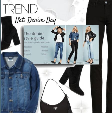Trend: Nat, Denim day