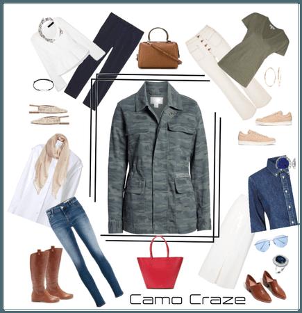 Camo Craze (Capsule Wardrobe  # 33-36)