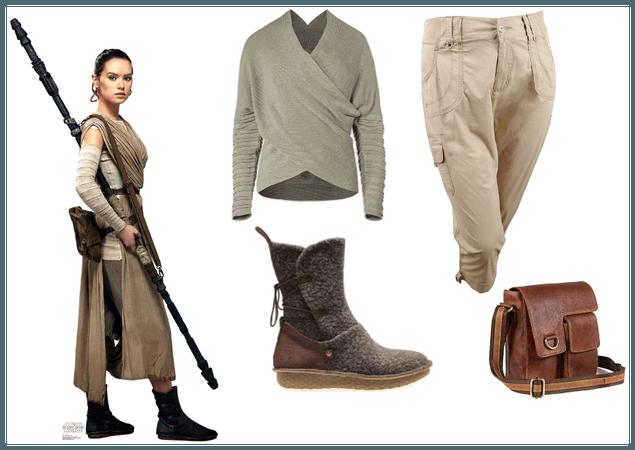 Rey Inspired Look