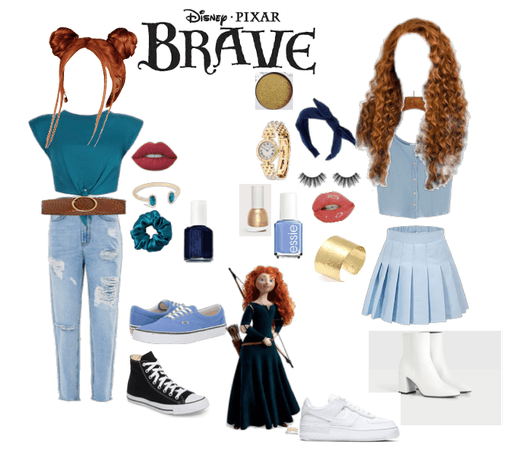 Modern Merida (Brave) Costume