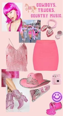 Pink Cowgirls