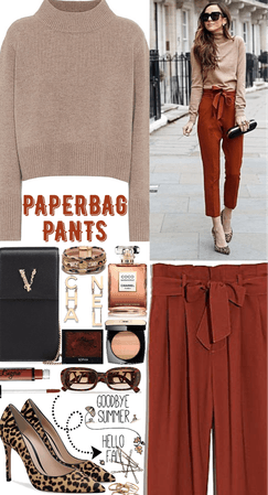 Summer to Fall: Paperbag Pants