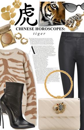 stylish tiger energy / chinese horoscopes