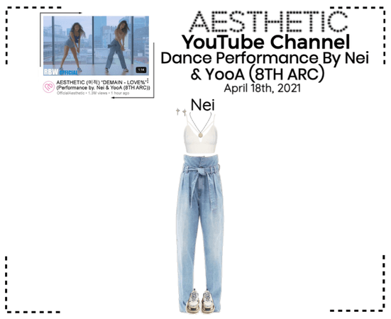 AESTHETIC (미적) [YouTube] Dance Performance