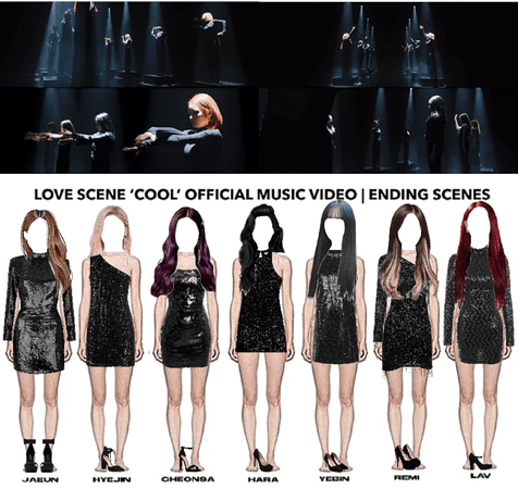 LOVE SCENE 'COOL' OFFICIAL MUSIC VIDEO   ENDING SCENES