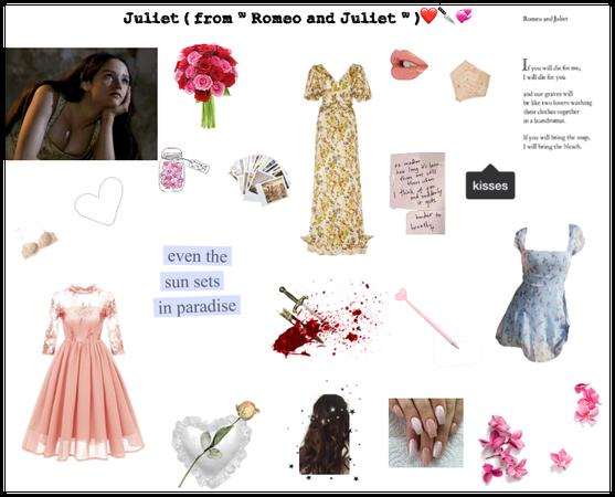 Juliet Capulet ( Romeo and Juilet ) Moodboard🌹