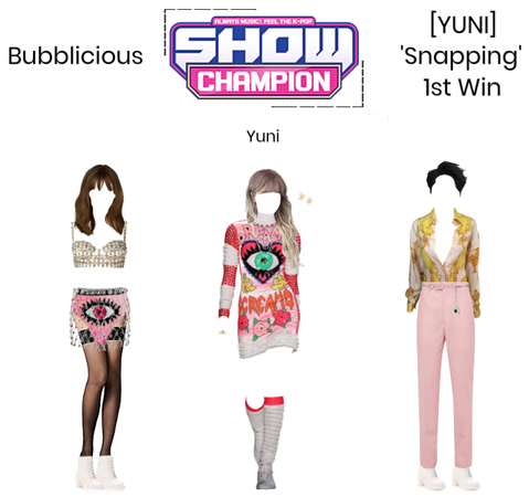 Bubblicious (신기한) [YUNI] 'Snapping' 1st Win