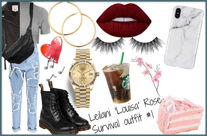 Leilani 'Louisa' Rose survival outfit #1