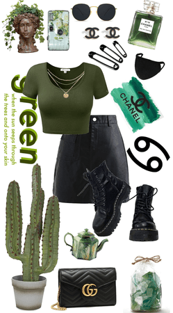Black and green 🌵🖤