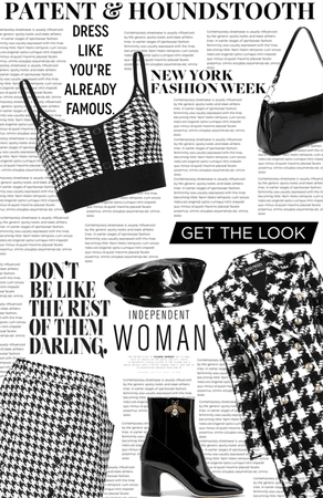 Patent and Houndstooth