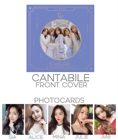 [HEARTBEAT] OFFICIAL CANTABILE ALBUM