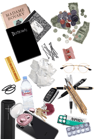 things that could be found in a backpack