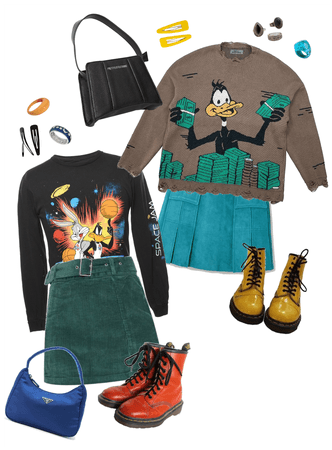 Daffy & Bugs