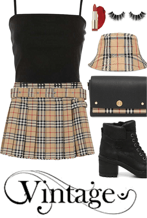 vintage teen outfit