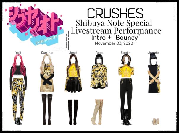 Crushes (호감) Shibuya Note