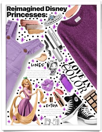 Modern Day Rapunzel 💜