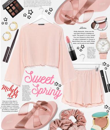 Spring Pink Shorts