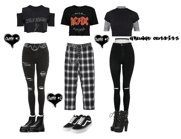 Aesthetic Grunge Outfits