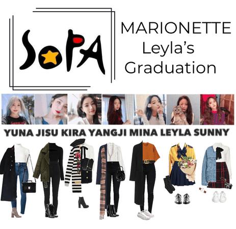 {MARIONETTE} Leyla's SOPA Graduation