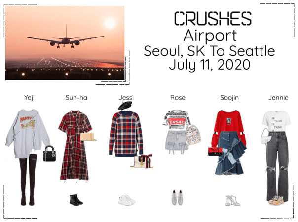 Crushes (호감) Airport Seoul, SK To Seattle