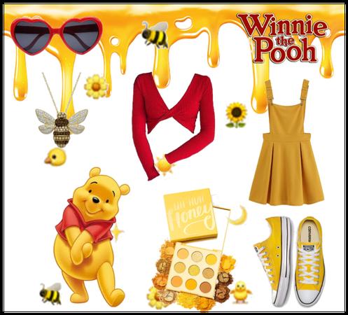 Disneybound Winnie the Pooh
