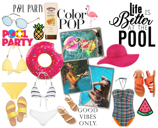 Pool Party Friendship Color Pop