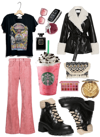 Winter Starbucks: Boho Look