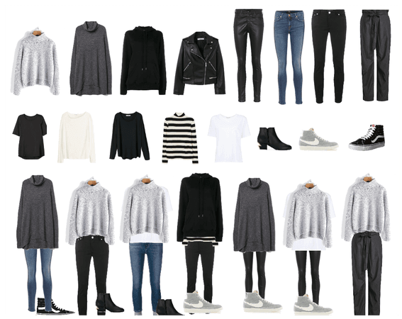 Light Packing for Fall - 1 week