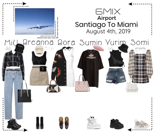 《6mix》Airport | Santiago To Miami