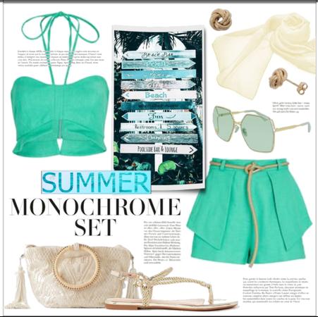 Summer Monochrome