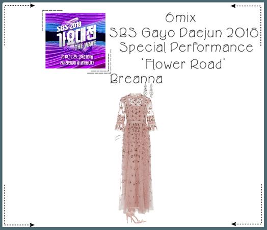 《6mix》SBS Gayo Daejun 2018 Special Performance