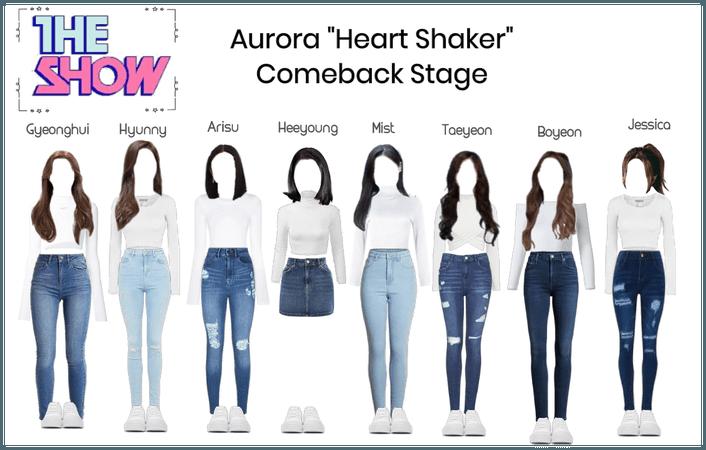 "Aurora ""Heart Shaker"" Comeback stage"