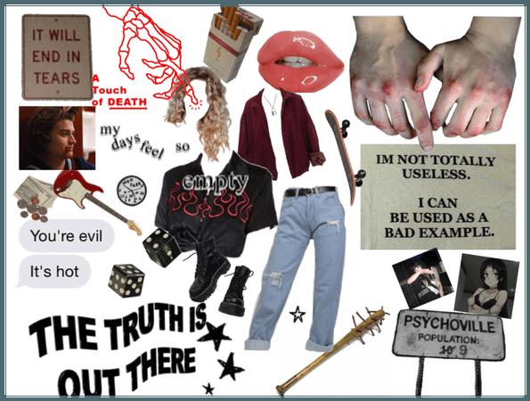 grunge girl 1