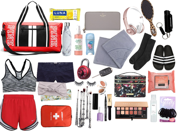 Sindy Grayson~What's In Her Fitness Bag.