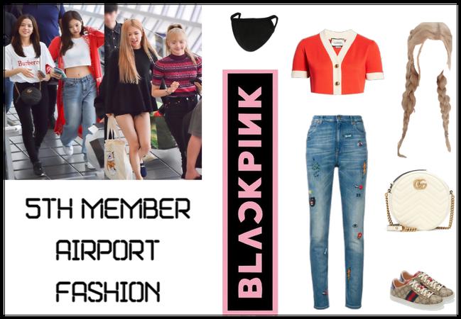 BlackPink 5th member Airport Fashion