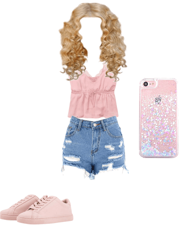 a soft girl outfit