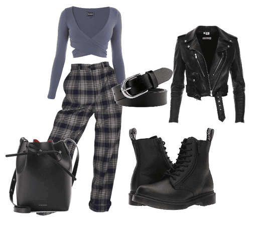 Edgy Weekend Inverted Triangle Shape