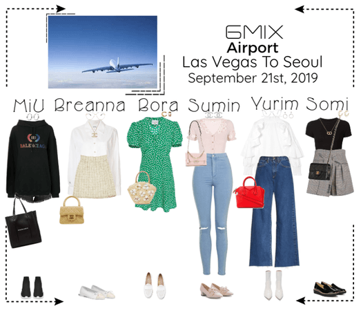 《6mix》Airport | Las Vegas To Seoul