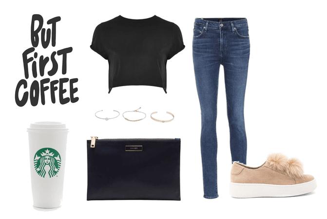 morning at Starbucks