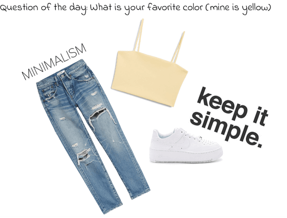 sups simple outfit