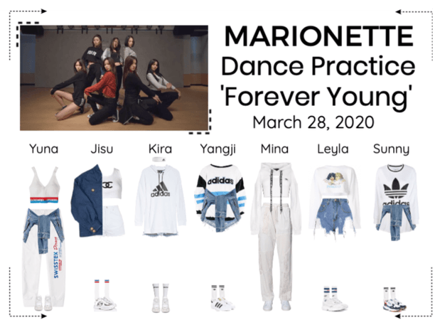 MARIONETTE (마리오네트) 'Forever Young' Dance Practice