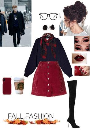 Fall Fashion with Jin