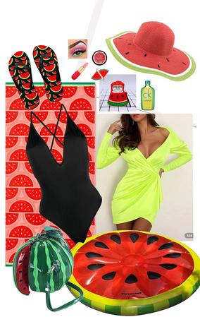 Melon Beach Day