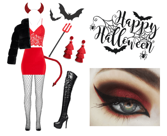 Halloween Devil Costume