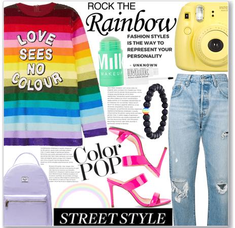 rock the rainbow 🌈