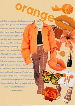 orange 💋
