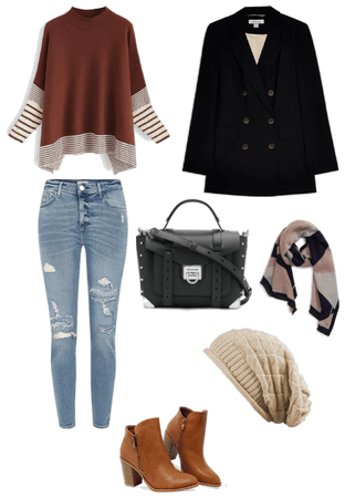 Casual fall outfit (female)
