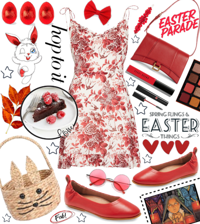 Easter in Red